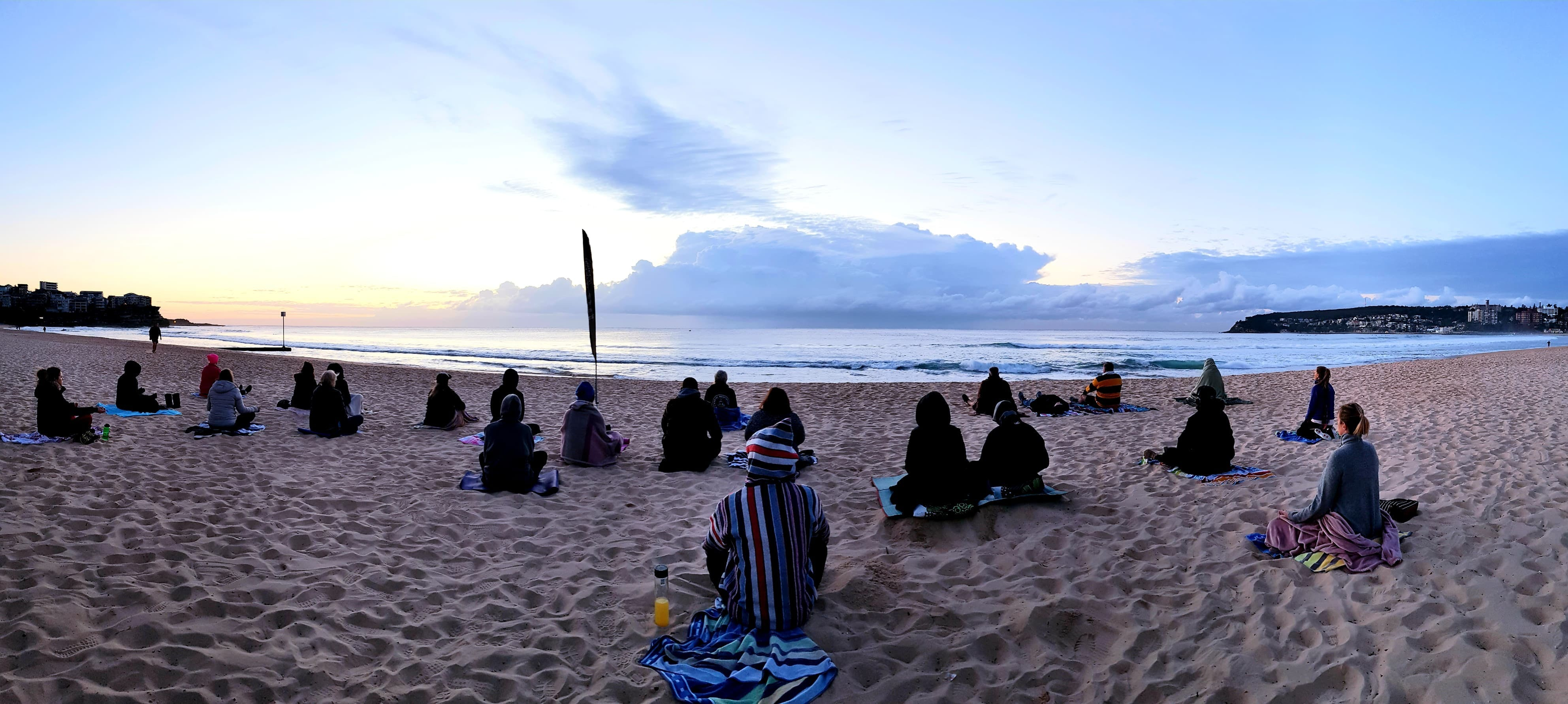 Making Meditation Mainstream Free Beach Meditation Sessions - Avalon Beach - Restaurants Sydney