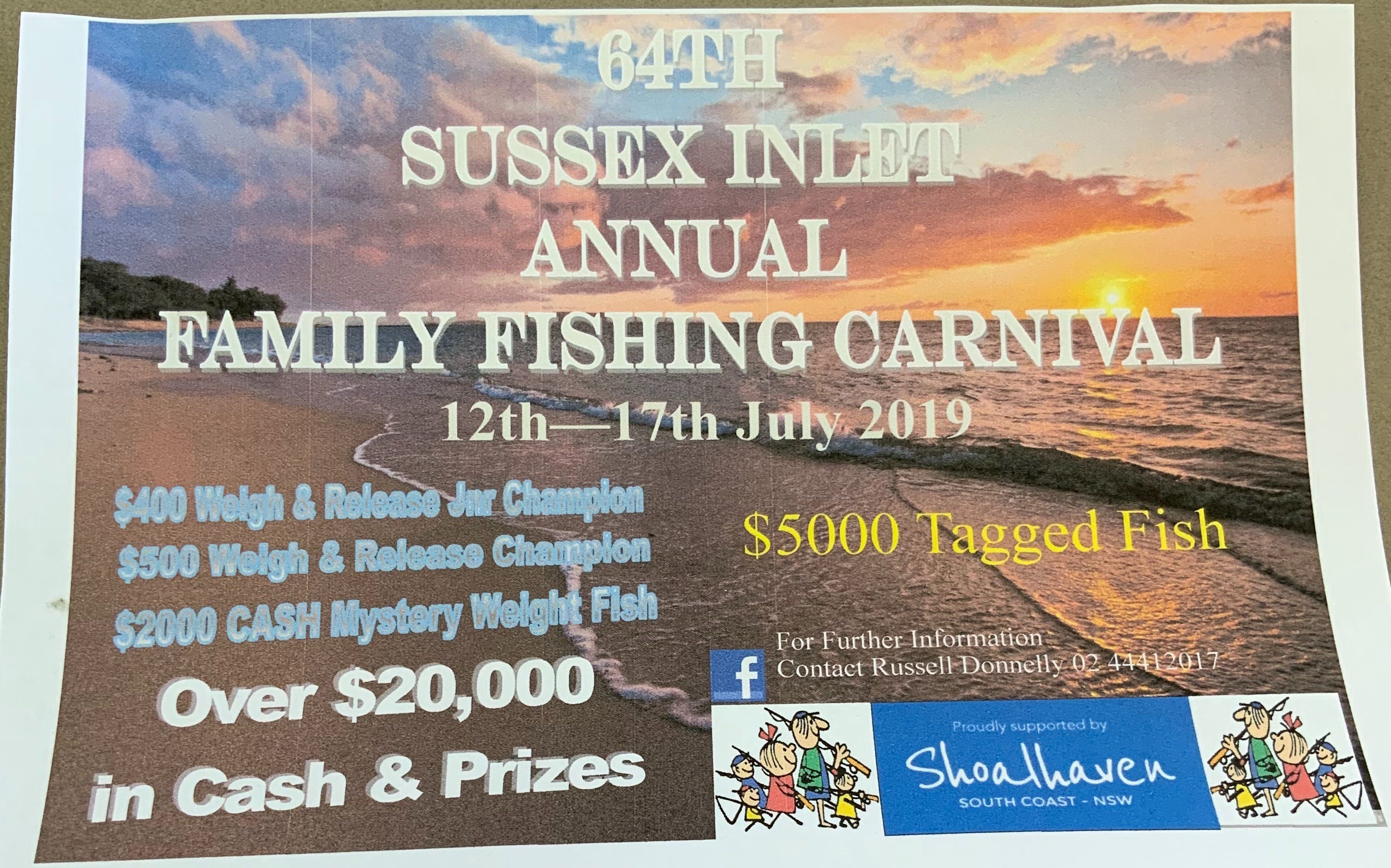 The Sussex Inlet Annual Family Fishing Carnival - Restaurants Sydney