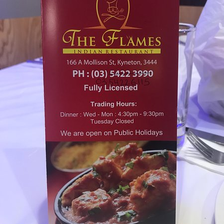 The Flames - Restaurants Sydney