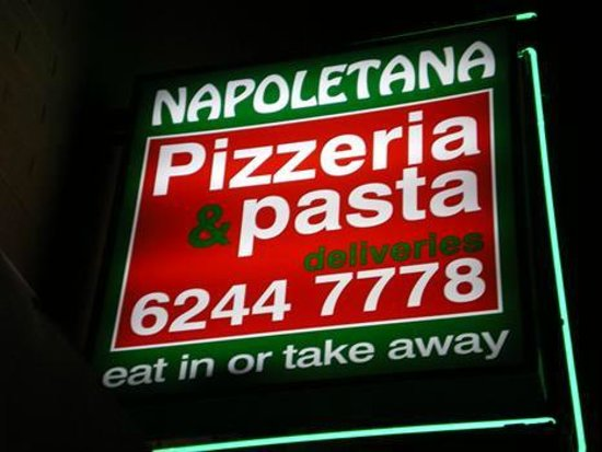 Napoletana Pizza  Pasta House - Restaurants Sydney