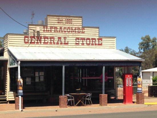 Ilfracombe General Store  Cafe - Restaurants Sydney
