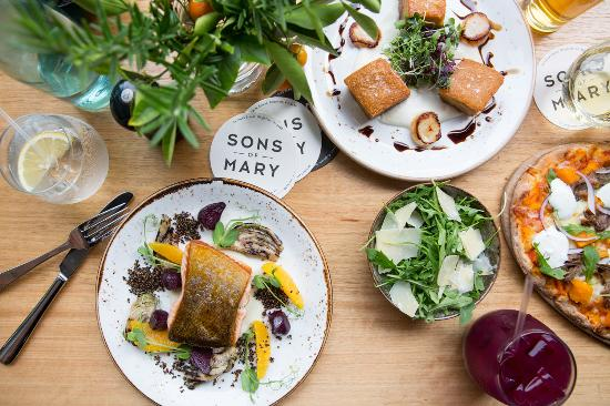 Sons of Mary - Restaurants Sydney